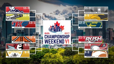 AUDL 2017 Championship Weekend